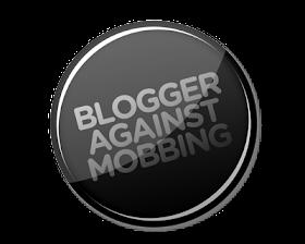 Das einer der Aktionsbuttons von Blogger gegen Mobbing