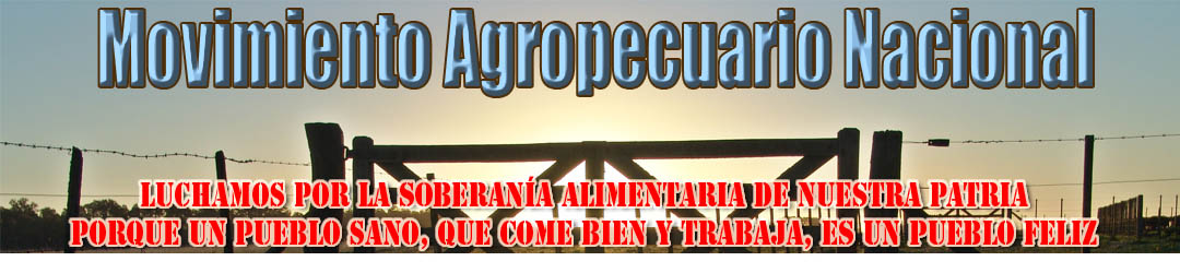 MOVIMIENTO AGROPECUARIO NACIONAL