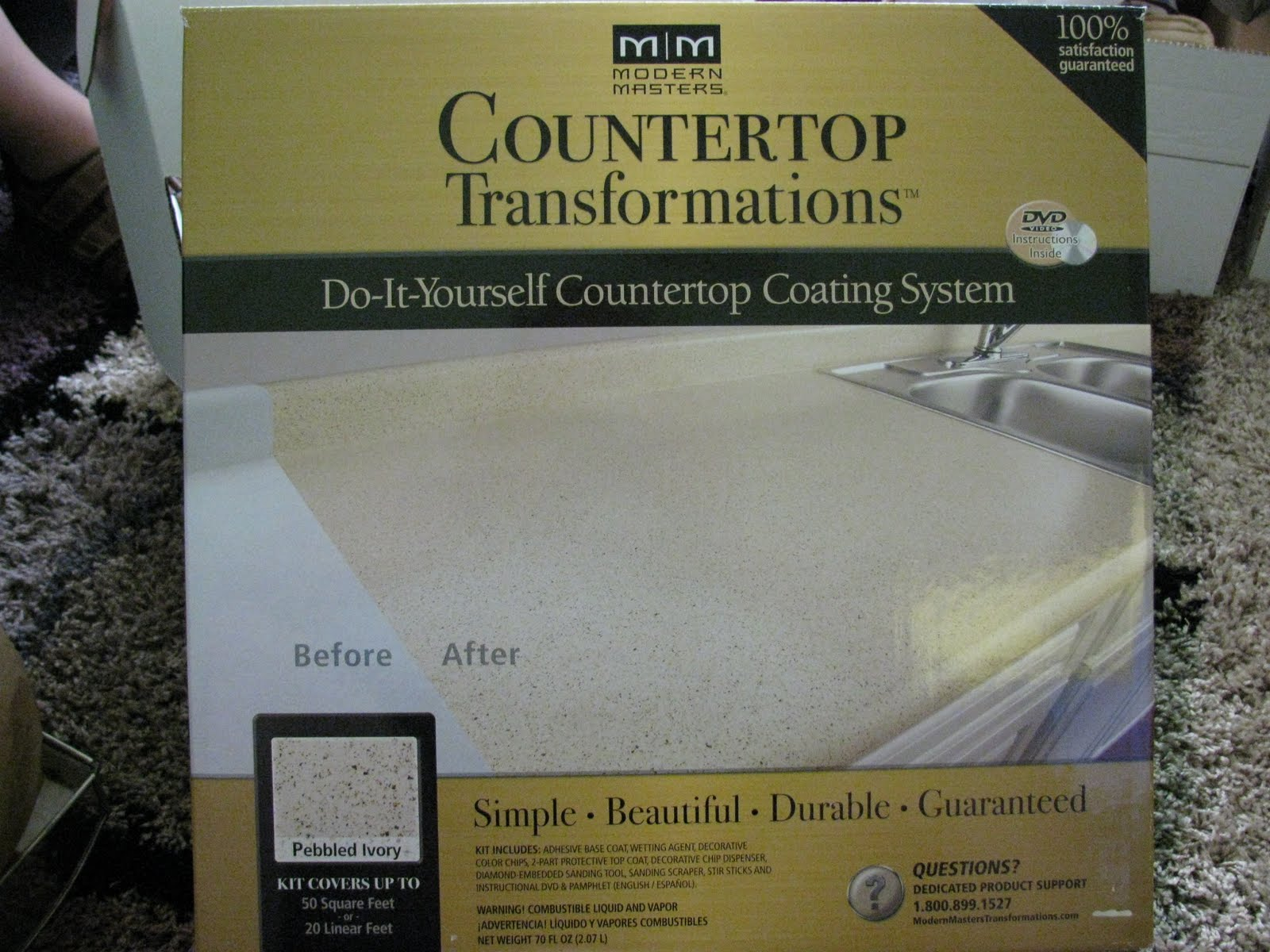 Countertop Not Long Enough : ... from the Front Lines: Transforming my Countertop into a Masterpiece