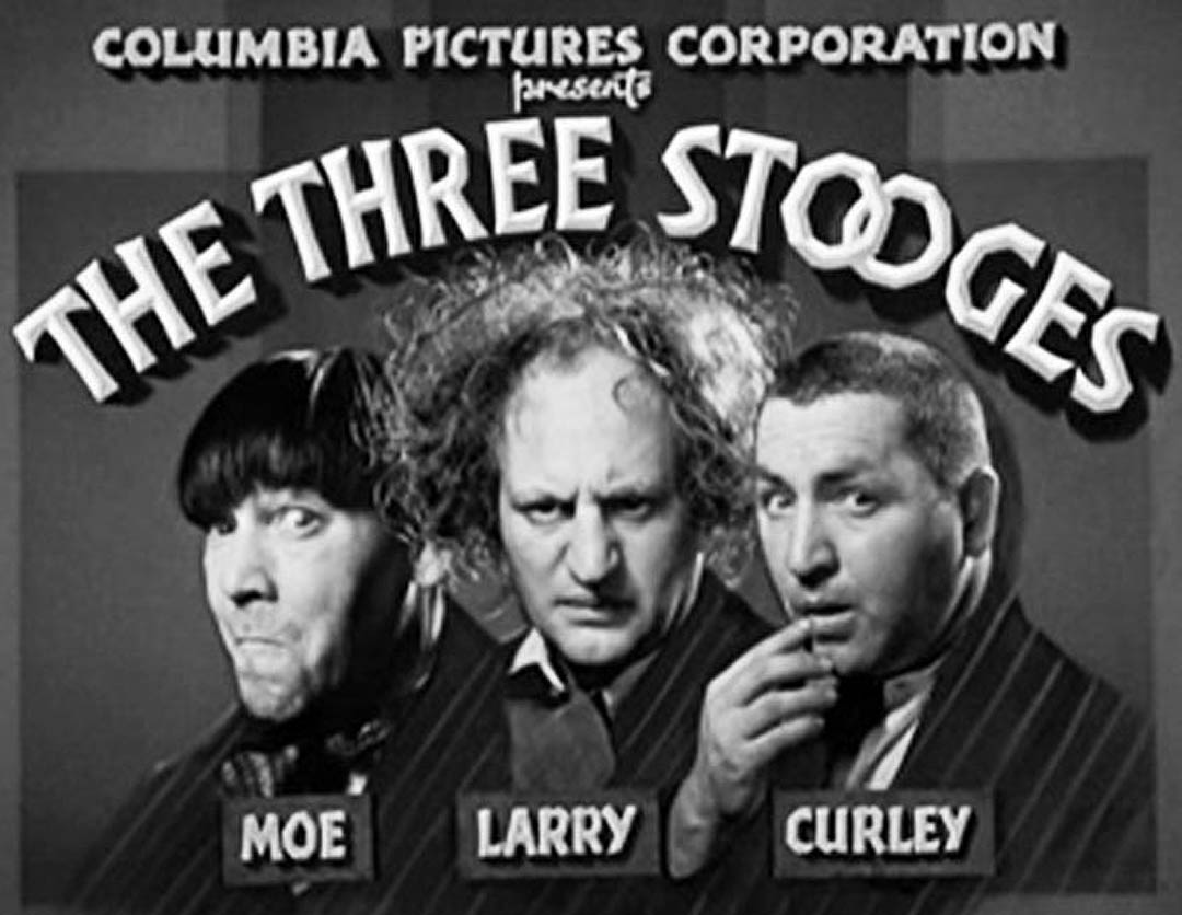in utter bliss, watching THE THREE STOOGES marathon on AMC channel ...