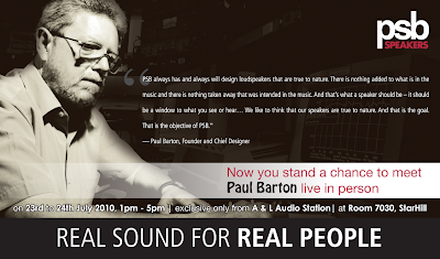 paul barton, psb speakers, hifi, 2010, audio, malaysia