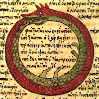 Eternal return, serpents: Orpheus sees it all