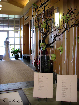 Here 39s a shot of the wedding party as they went by the reception room
