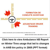 Click here to view Ambulance NB 2008 Report on Tires