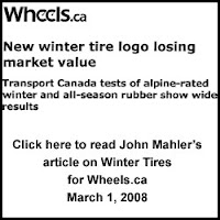 Click here to read article by John Mahler on Winter Tires, March 1, 2008