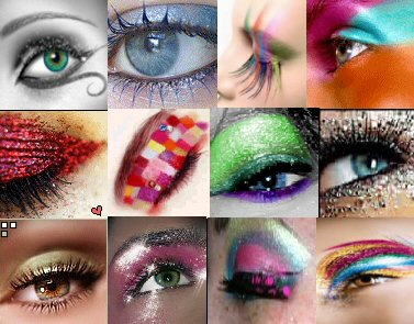 Make-up artist in the