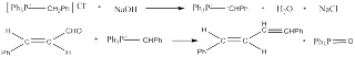 wittig reaction synthesis of 1 4 diphenyl 1 3 butadiene Swim is interested in the wittig reaction and some of it's potential uses  ethanol  is used for the synthesis of 1,4-diphenyl-1,3-butadiene from.