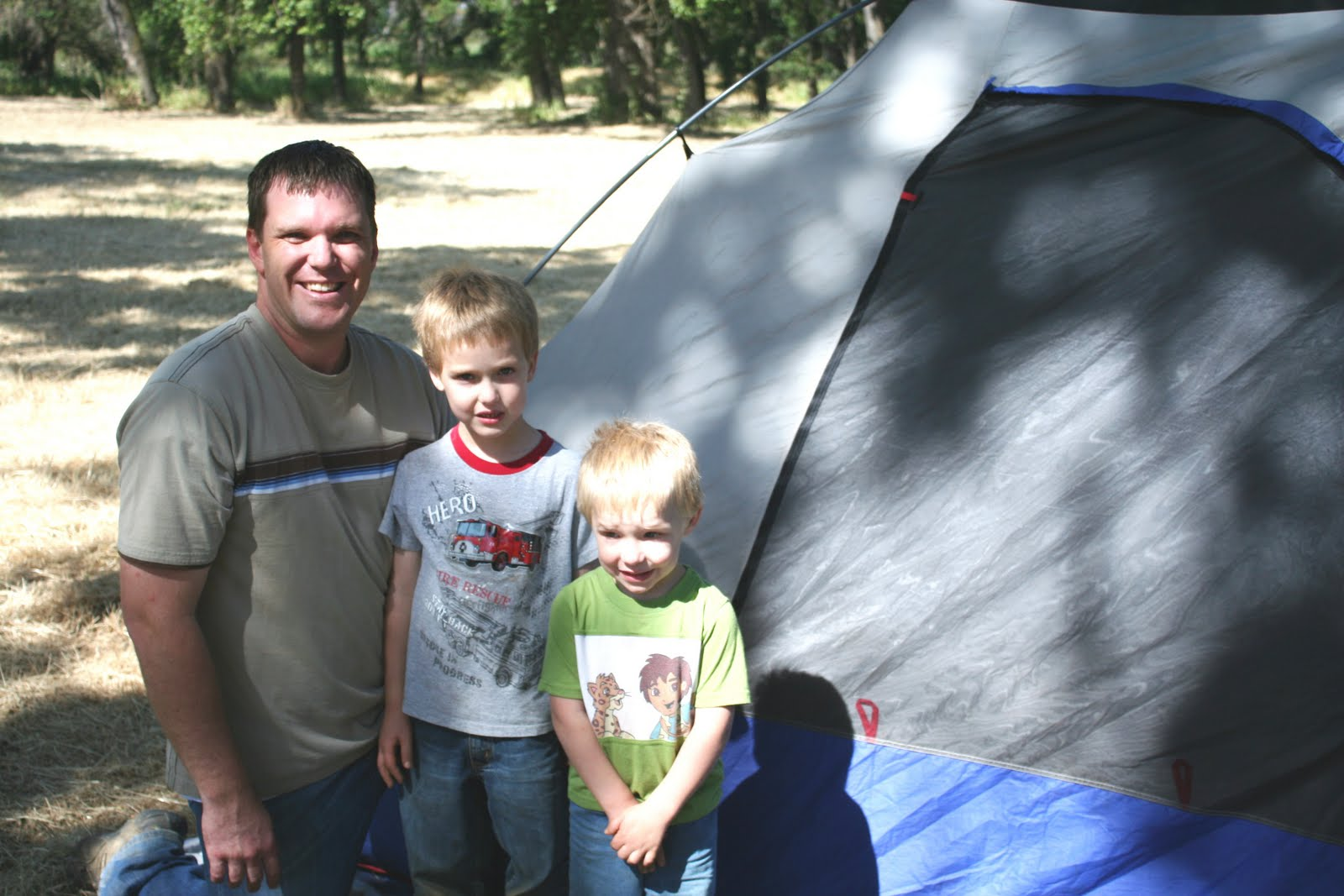 The Payne Post Father Son Camp Out