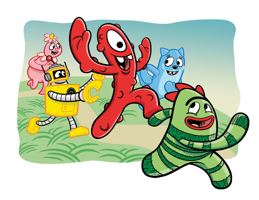 yo gabba gabba the comic coming soon from oni multiversity comics rh multiversitycomics com