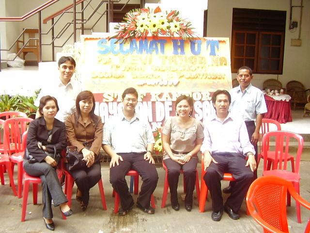 Di Acara HUT Pst. Revi Tanod, 24 Okt 2007