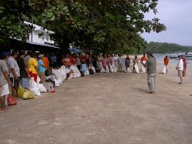 Acara ISKU, Bersih Pantai Bunaken