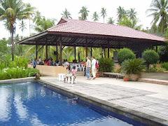 Lokasi Vila Le Jardin, Tateli