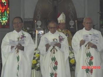 3 serangkai mengucapkan Pemantapan Janji Imamat