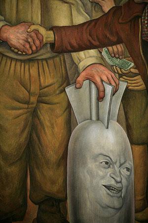 obras de diego rivera. En 1923, Diego Rivera,
