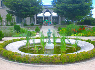 Decorative Fountain and Pool in the Formal Gardens