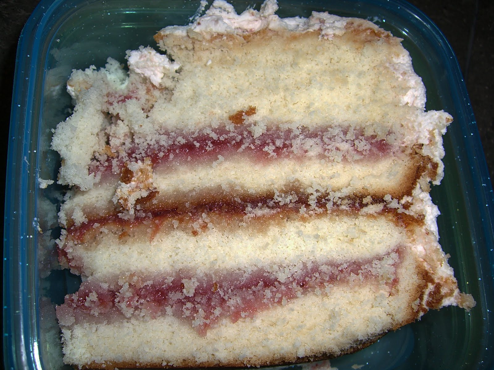 Sweet Cherry Rhubarb Semolina Cake With Candied ...