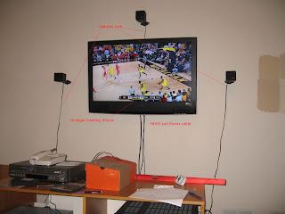 The Aquinos: Hiding TV and Speaker Wire