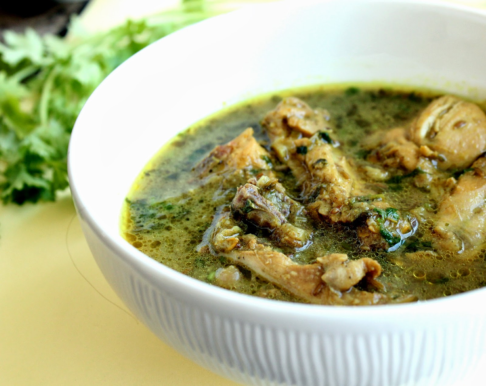 Sips and SpoonfulsCumin Scented Chicken Curry