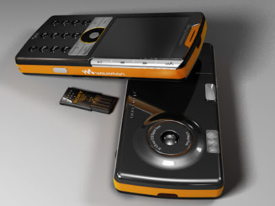 Sony Ericsson Concept Phone Has Full-Sized USB Port [Concept]