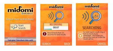 midomi mobile