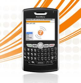 Blackberry mobile