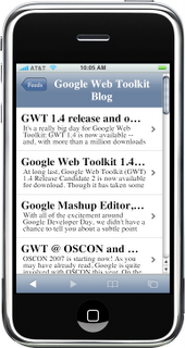 Google Reader for iPhone Now Available