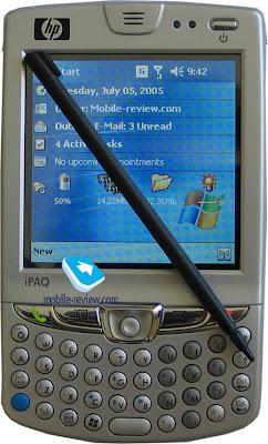 HP iPAQ hw6515 - A Sober Gadget