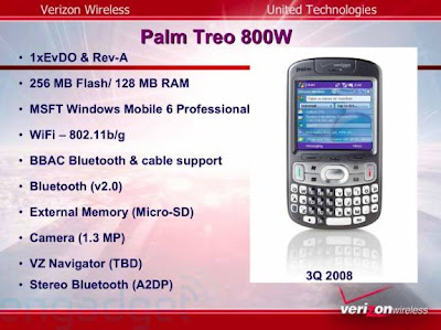 Treo 800w