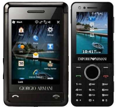 New Samsung Armani Phone