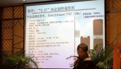 Sony Ericsson T707 Elle