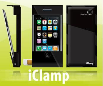 iClamp - Turn your iPod Touch into an iPhone