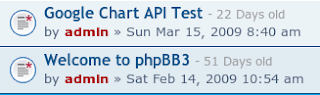 phpBB3 days old mod