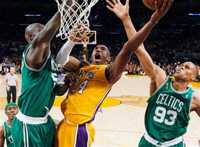 heftyinfo: Lakers and Celtics in NBA Finals ... Again