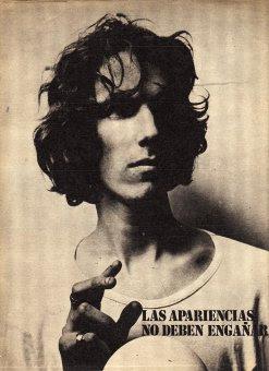 Spinetta en 1971.