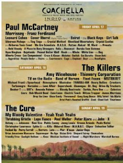 coachellazz Paul McCartney headlining Coachella