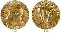image of Nobel peace prize medal, from nobelprize.org