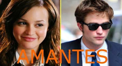 robert pattinson & leighton meester