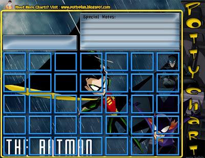 My Potty Plan Free Batman Potty Training Chart