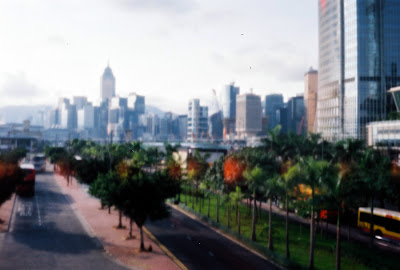 pinhole photos from Hong Kong