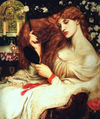 HERBERT DRAPER - Página 2 Dante_Gabriel_Rossetti_-_Lady_Lilith+-+CORAZON+DE+VAMPIRO