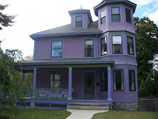 Purple house in Rhode Island