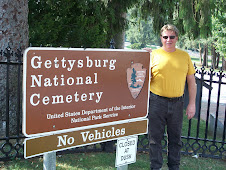 Mike @ the cemetery entrance