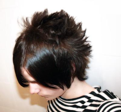Spiky Blonde Hair Men. emo hair for guys with long