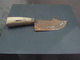 cuchillo para castracion