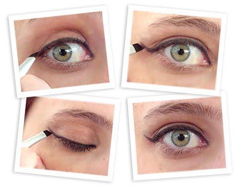 sala de espera como usar o eyeliner