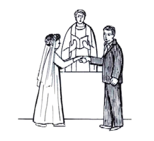 Matrimonio Catolico Dibujo : Iglesia catolica heterodoxa bendicion matrimonial