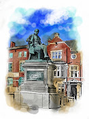 Crompton's Statue, Bolton