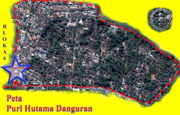 Danguran Peta Lokasi