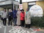 Visit to the Queen Elizabeth Hospital at Kings Lynn
