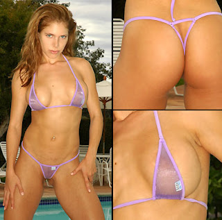 Sparkle Sheer Bikini (Tiny Bottom)